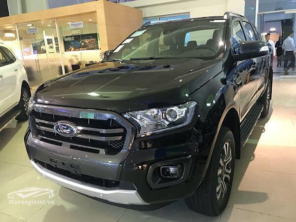 Xe bán tải Ford Ranger 2021 mới (bản Wildtrak 2.0 Turbo, 1 cầu)