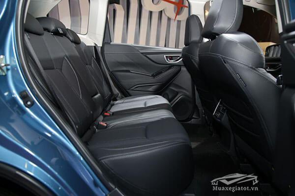 Forester 2019 có dung tích khoang hành lý tiêu chuẩn đạt 1003 lít. Tuy nhiên, hàng ghế hai có thể gập 60:40 do đó chủ nhân vẫn có thể gia tăng không gian lên 2155 lít.